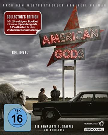 American Gods / Collector's Edition / 1. Staffel / Blu-ray