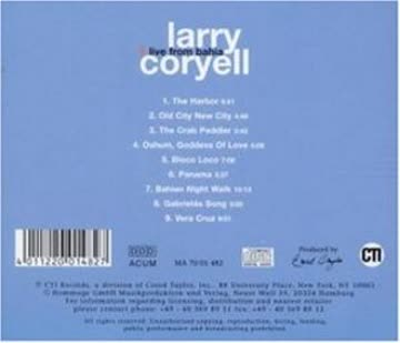 Coryell Larry - Live From Bahia