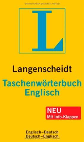Langenscheidt Taschenwörterbuch Englisch: Englisch-Deutsch/Deutsch-Englisch (Langenscheidt Taschenwörterbücher)