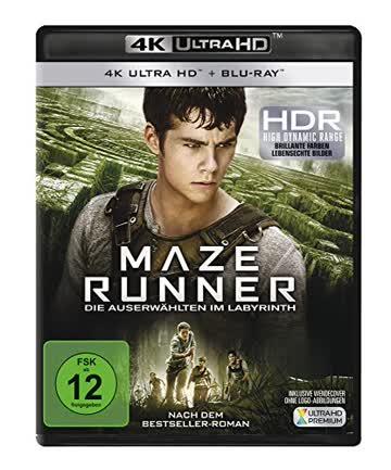 Maze Runner 1 - Die Auserwählten im Labyrinth [4K Ultra HD + Blu-ray]