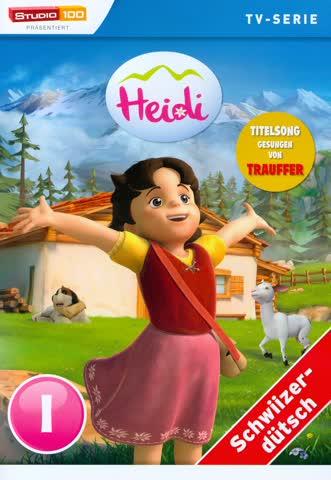 Heidi - TV-Serie - DVD 1 (Schweizerdeutsch, Studio 100)