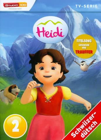 Heidi - TV-Serie - DVD 2 (Schweizerdeutsch, Studio 100)