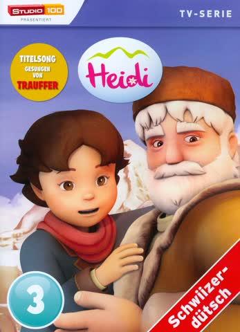 Heidi - TV-Serie - DVD 3 (Schweizerdeutsch, Studio 100)