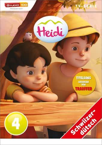 Heidi - TV-Serie - DVD 4 (Studio 100, Schweizerdeutsch)