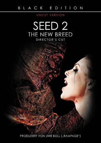 Seed 2 - The New Breed - (Black Edition, Kinoversion, Uncut)