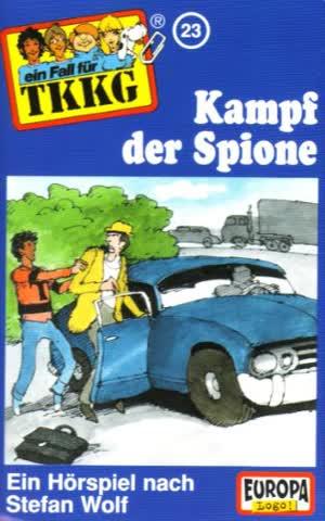 Ein Fall für TKKG, Folge 023 - Kampf der Spione