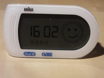 Bluetooth Display für Braun Oral B Zahnbürste