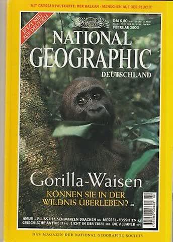 National Geographic Deutschland Feb 2000 - Gorilla-Waisen