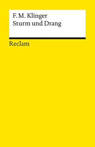 Sturm und Drang (Reclams Universal-Bibliothek)