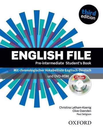 English File. Pre Intermediate Student's Book & iTutor Pack (DE/AT/CH)