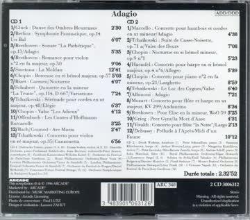- Adagio D'Albinoni /Ave Maria De Gounod/La Moldau