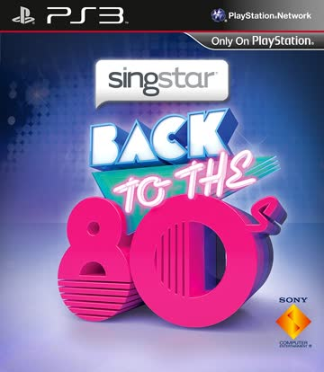 PS3 SingStar: Back to the 80s (PEGI)