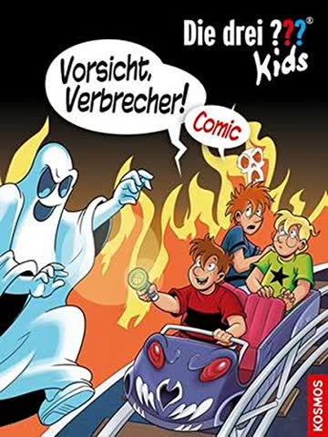 Die drei ??? Kids, Vorsicht, Verbrecher!: Comic