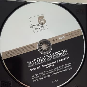 Matthäus-Passion, 2. Teil