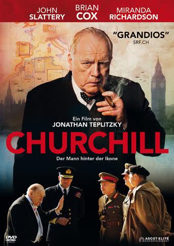 Churchill Derr Mann hinter der Ikone