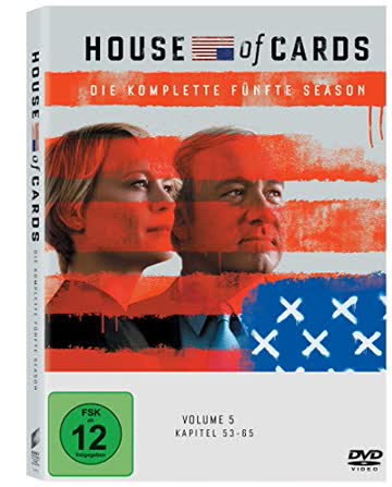 House of Cards - Die komplette fünfte Season (4 Discs)