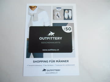 Gutschein von Outfittery