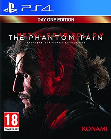 Metal Gear Solid V: The Phantom Pain - Jeu PS4