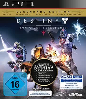 Destiny: König der Besessenen Legendäre Edition (PS3) (nur noch Grundspiel enthalten)