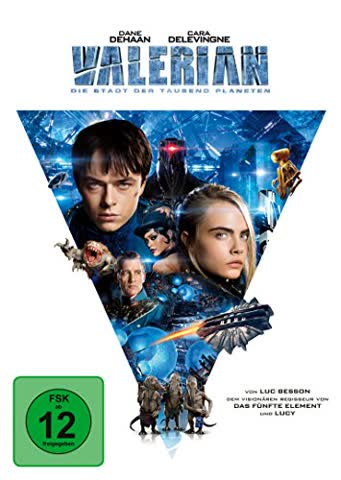 VALERIAN - MOVIE [DVD] [2017]