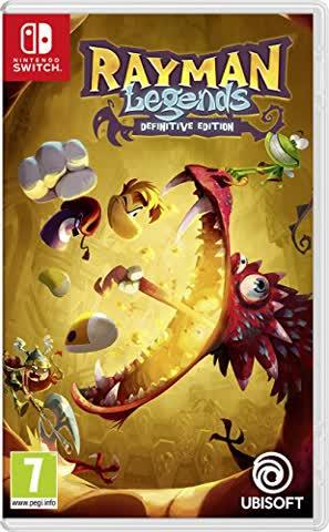 Rayman Legends Definitive Edition - [AT-PEGI] - [Nintendo Switch]