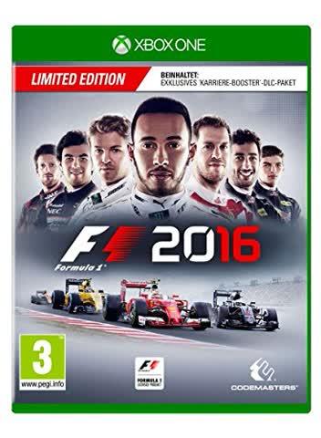 F1 2016 Limited Edition (XONE) (PEGI)