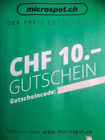 Gutschein microspot.ch