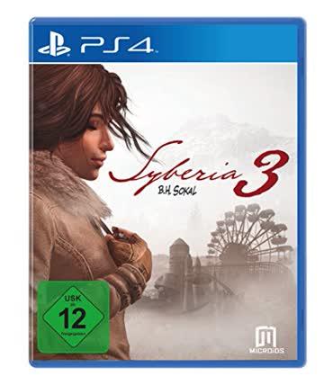 Syberia 3 PlayStation 4