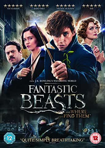 Fantastic Beasts and Where To Find Them (+ Digital Download) [2016] [DVD] UK-Import, Sprache-Englisch
