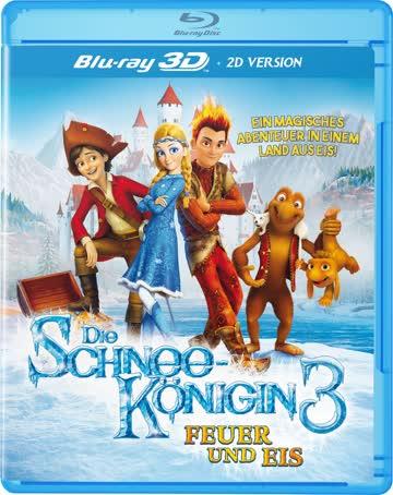 Die Schneekönigin 3 3D - Feuer und Eis (Blu-ray 3D (+2D))