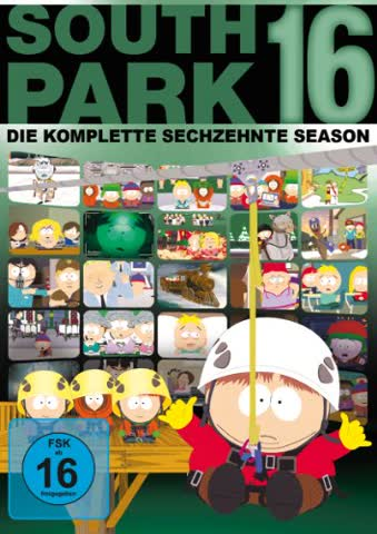 South Park - Season 16 (DVD) (FSK 16)