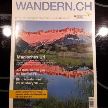 Wandern.ch - August 4/2017