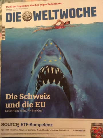 Die Weltwoche Magazin Ausgabe Nr. 40 vom Oktober 2015