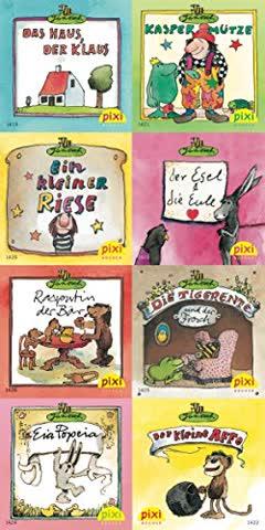 Pixi-Bücher: Pixi-Serie Nr. 159: Pixi gratuliert Janosch zum Geburtstag: 8 x 8 Stück