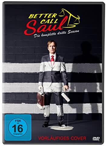 BETTER CALL SAUL S.3 - MOVIE [DVD]