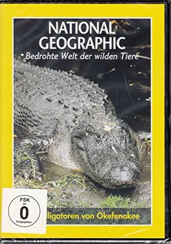 Bedrohte Welt der wilden Tiere: Die Alligatoren von Okefenokee