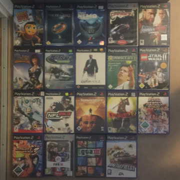 PS 2 + Spiele