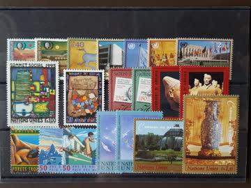 UNO Genf - Steckkarte mit einigen schönen Dubletten (**)