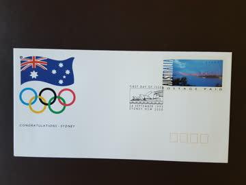 Australien - vorfrankiertes Couvert als FDC von 1993