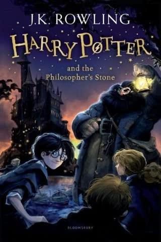 Harry Potter, book 1 - Harry Potter and the Philosopher's Stone
