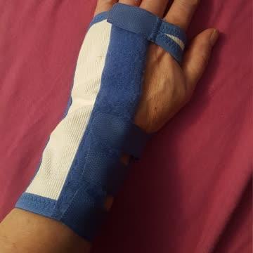 Handgelenk-Schiene