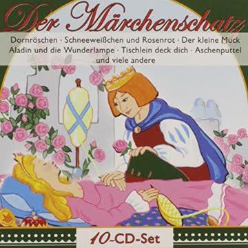Peter Folken - Der Märchenschatz: Dornröschen / Aschenputtel / Rosenresli / Rübezahl / Schneeweisschen / Rosenrot usw.