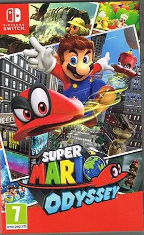 Super Mario Odyssey (AT-PEGI) Nintendo Switch
