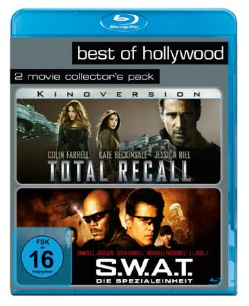 Total Recall/S.W.A.T. - Die Spezialeinheit - Best of Hollywood/2 Movie Collector's Pack [Blu-ray]