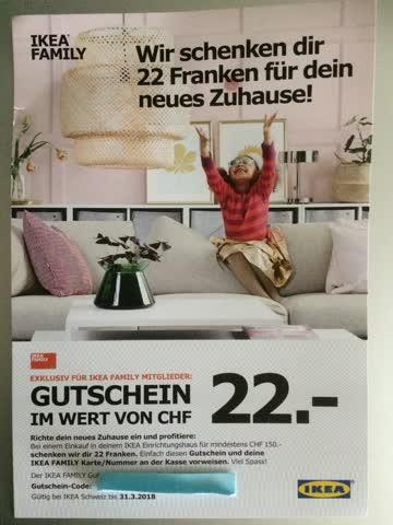 Ikea Gutschein Gunstig Gebraucht Kaufen Bei Exsila Ch
