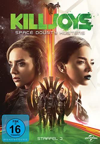Killjoys - Space Bounty Hunters - Staffel 3 [3 DVDs]