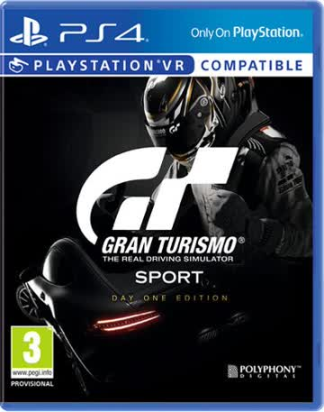 Gran Turismo Sport Day One Edition (GT Sport) [AT-PEGI]