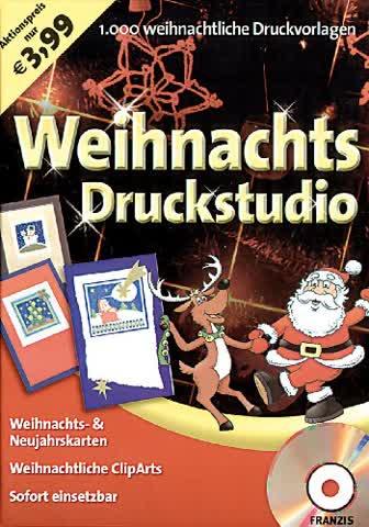FRANZIS Weihnachts-Druckstudio