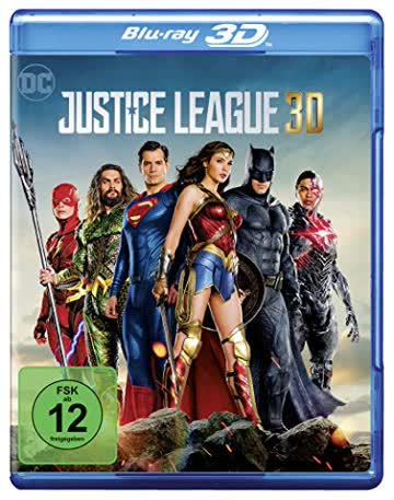 Justice League [3D Blu-ray]