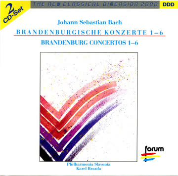 Karel Brazda - Brandenburgische Konzerte